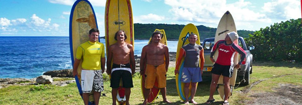 SURF SCHOOL A GUADELOUPE