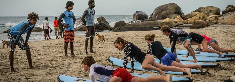 Sri Lanka East Coast Surf School