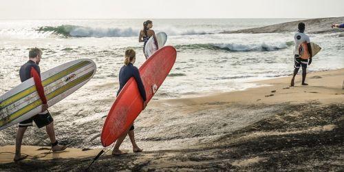 Arugam Bay Surf Camp Viaggio di gruppo