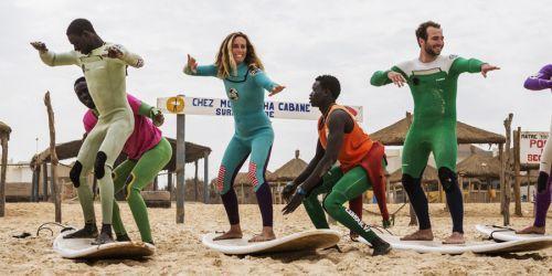 SENEGAL SURF CAMP A PASQUA CON LORENZO CASTAGNA