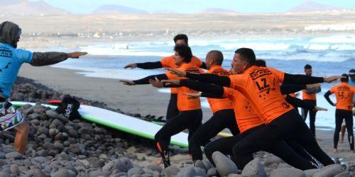 SURF CAMP LANZAROTE GROUP TRIP