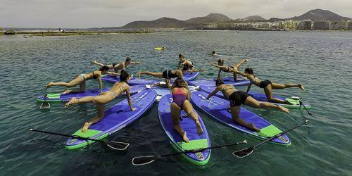 Paddle yoga Las Palmas